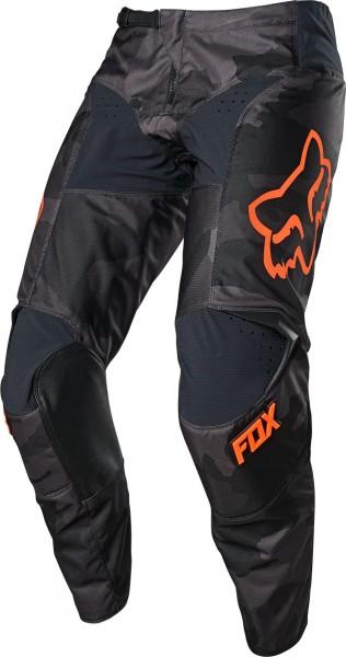 Fox - 180 Trev Pant Crosshose Schwarz Camouflage