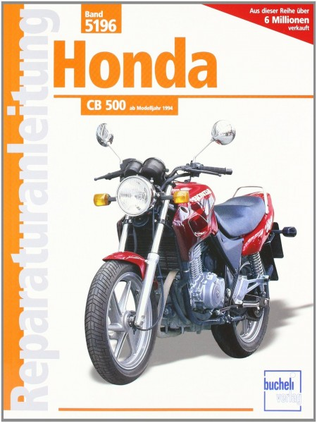 Reparaturanleitungen Honda CB 500 Bj. 1994