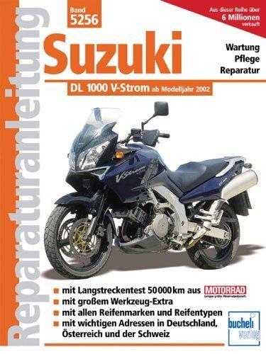 Reparaturanleitung Suzuki 1000 V-Strom