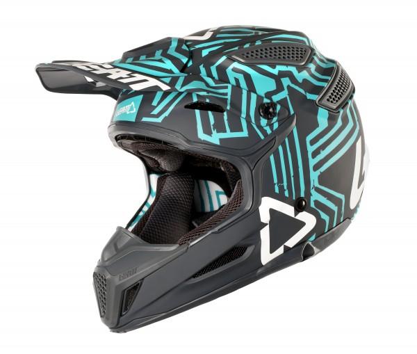 LEATT Helm 5.5 Comp V10 Gr. M grau/teal
