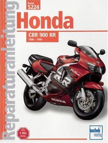 Reparaturanleitung Honda CBR / 900 RR. Typ SC 31 ab Baujahr 1996 bis 1999