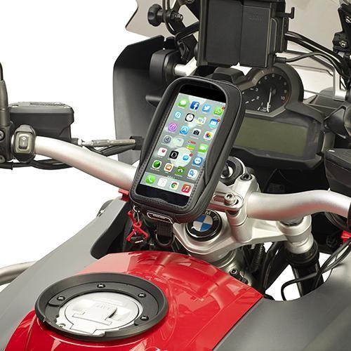Givi - Smartphone Tasche inkl. Lenkerhalter - für I-Phone 6+ / Samsung Note 4