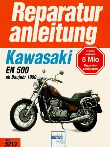 Reparaturanleitung Kawasaki EN 500 (ab 1990)