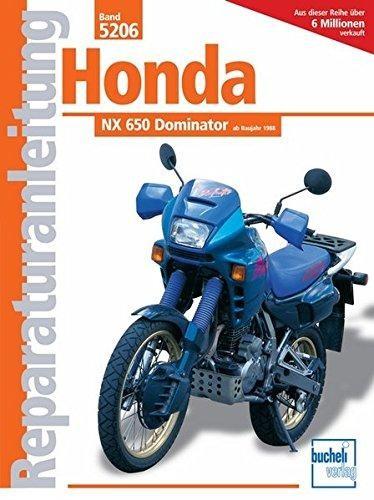 Reparaturanleitung Honda NX 650 Dominator