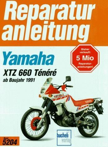 Reparaturanleitung Yamaha XTZ 660 Ténéré ab Baujahr 1991