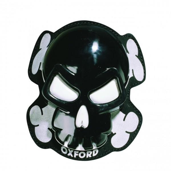 Oxford Knieschleifer Skull Schwarz