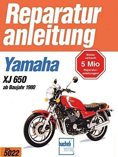 Reparaturanleitung Yamaha XJ 650 ab 1980
