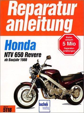 Reparaturanleitung Honda NTV 650 Revere (ab 1988)