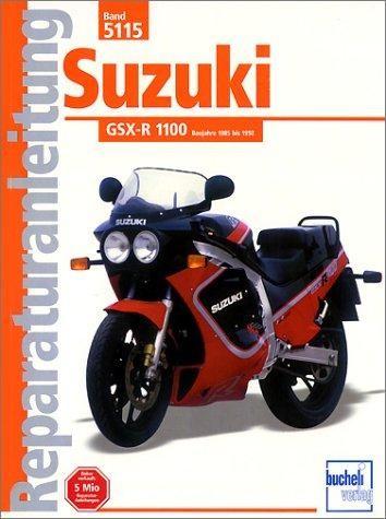 Reparaturanleitung Suzuki GSX-R 1100 1985-1992