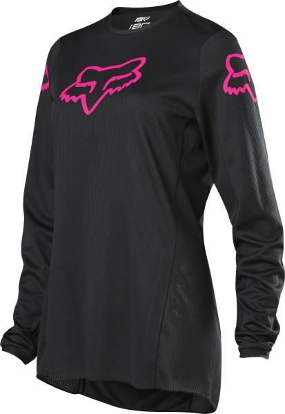 Fox - 180 Prix Womens Jersey Crosstrikot Schwarz / Pink