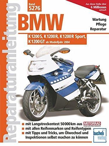 Reparaturanleitung BMW K 1200 S, K 1200 R, K 1200 R Sport, K 1200 GT