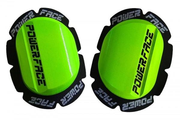 Power Face Knieschleifer Classic Neongrün