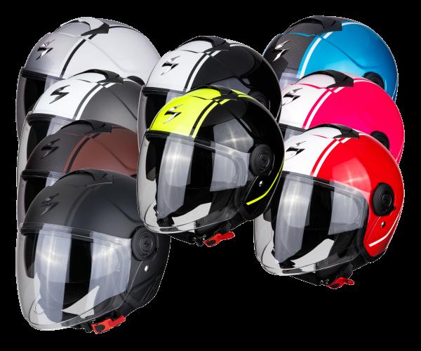 Scorpion - Exo - City Avenue Jet - Helm