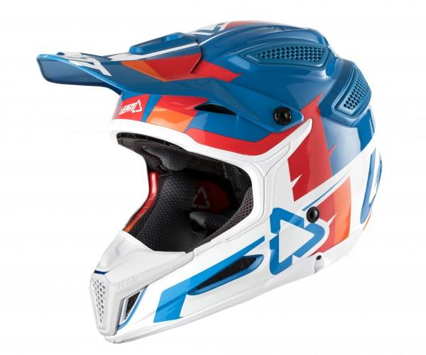 LEATT Helm 5.5 Comp V10 Gr. M blau/weiß