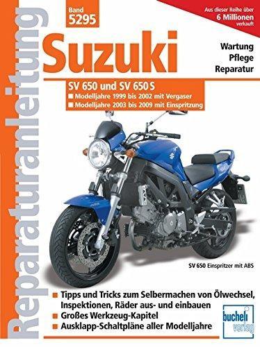 Reparaturanleitung Suzuki SV 650/SV 650 S /Vergaser u. Einspritzung/ Modelljahr 1999-2008