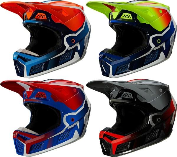 Fox - V3 RS Wired Helmet mit ECE Crosshelm