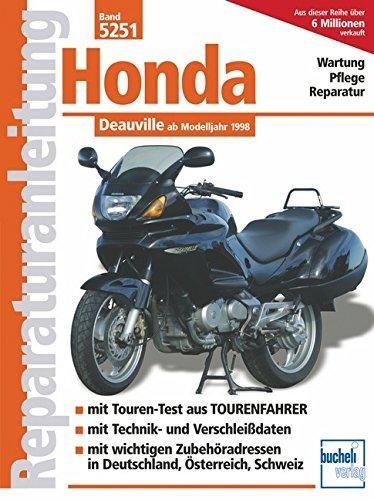 Reparaturanleitung Honda Deauville ab 1998