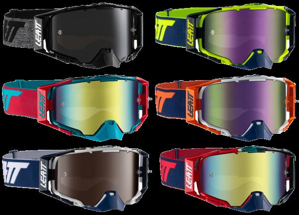 Leatt - Velocity 6.5 Iriz Crossbrille verspiegelt