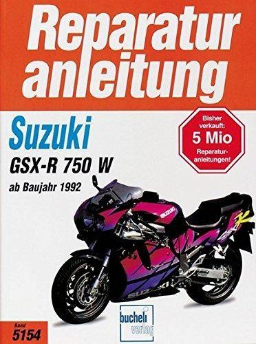 Reparaturanleitung Suzuki GSX-R 750 W ab 1992