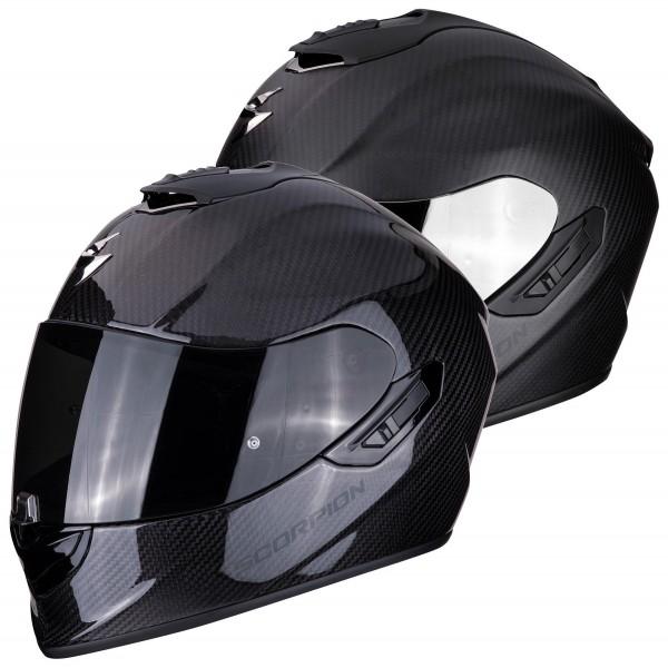 Scorpion - EXO-1400 Air Carbon Integralhelm schwarz