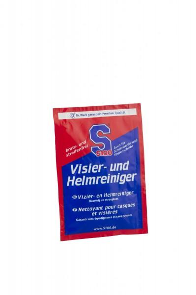 S100 - Visier- und Helmreiniger Tuch